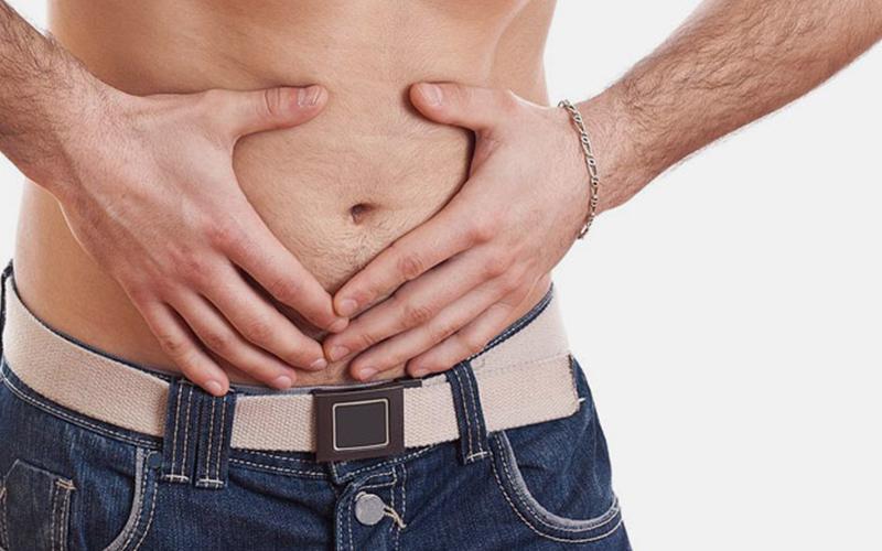 درد شکم در مردان