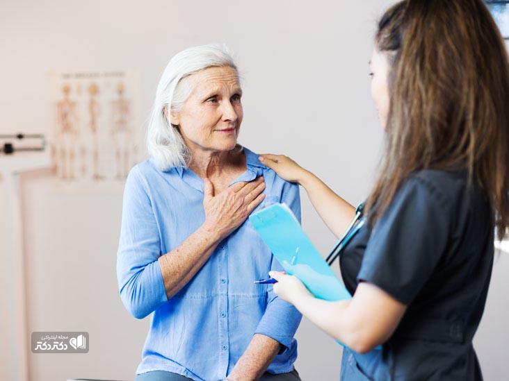 تشخیص اسپاسم عروق کرونری