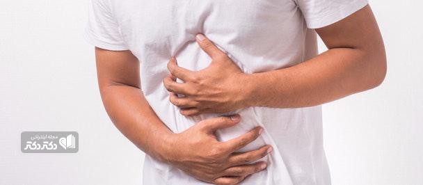 درد شکم در سمت چپ پایین