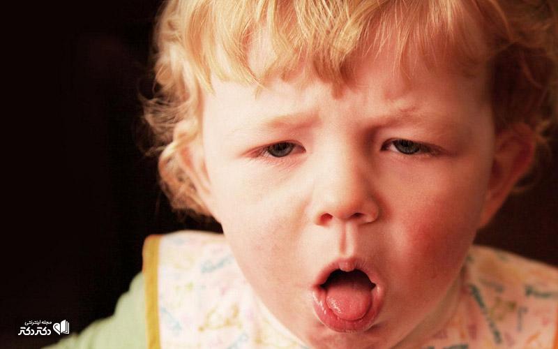انواع سرفه شدید کودکان