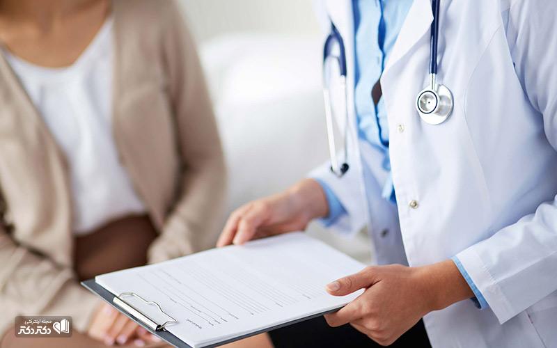 مراجعه به دکتر برای عفونت مجاری ادراری