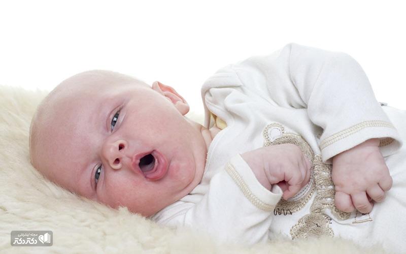 انواع سرفه در نوزادان
