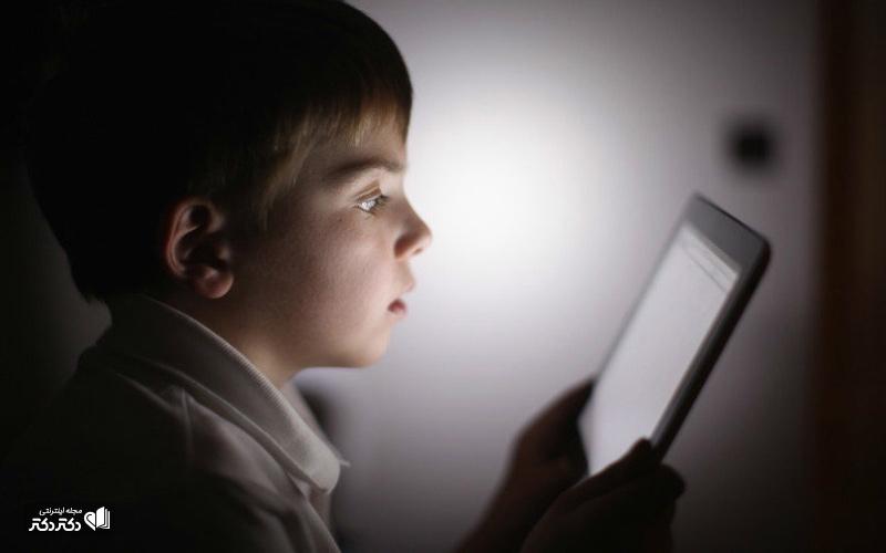 تاثیر-لوازم-الکترونیک-بر-رشد-کودکان