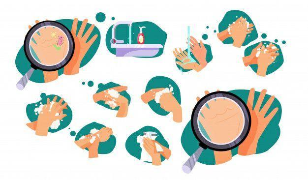 برای کاهش خطر ابتلا به ویروس کرونا دستهای خود را مرتب با آب و صابون بشویید