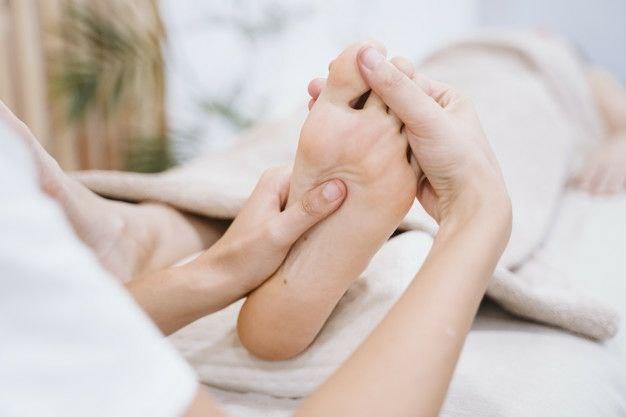 درد انگشتان پا - درد کف پا