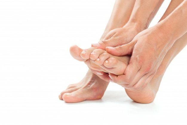 درد استخوان کنجدی پا (Sesamoiditis) - درد کف پا