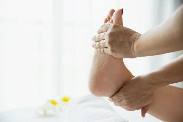 درد انگشتان پا- درد کف پا