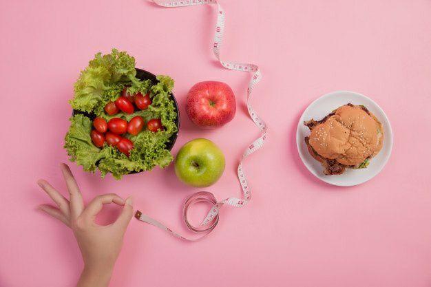 خوردن سبزی در رژیم لاغری