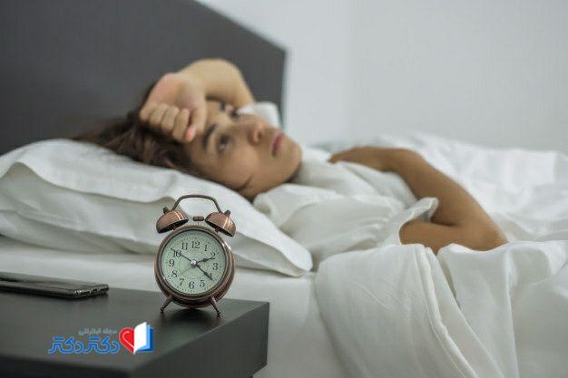 علت بی خوابی زنان