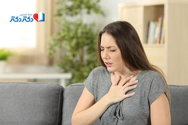 مشکلات تنفسی از عوارض درمان نشدن   ریفلاکس اسید معده