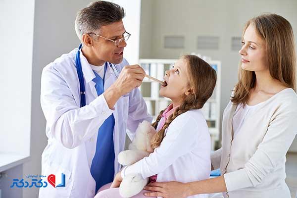 بیماری های حلق و گلو