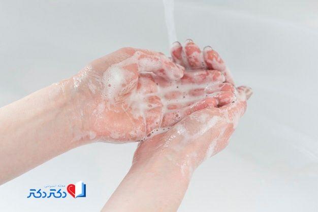 اهمیت شستن دستها