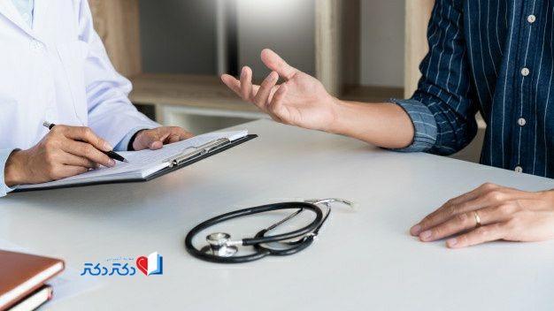 رفتن به پیش پزشک برای درمان بورسیت لگن