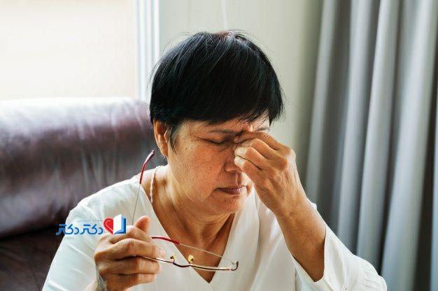 علت سوزش و خشکی چشم