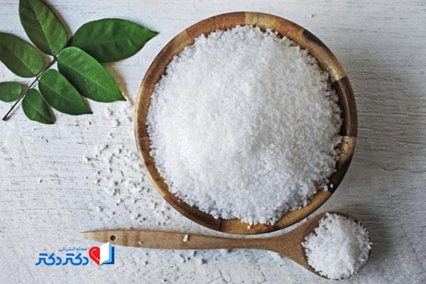 درمان شپش با نمک