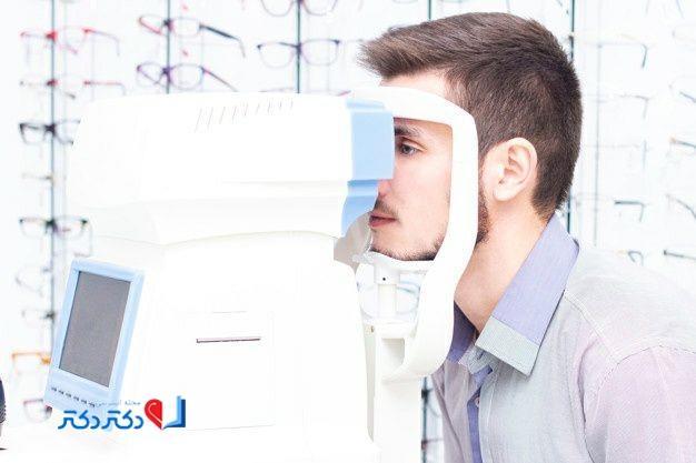 تشخیص نزدیک بینی چشم