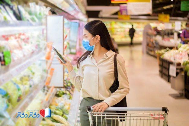 چگونگی ضدعفونی کردن مواد غذایی در زمان کرونا