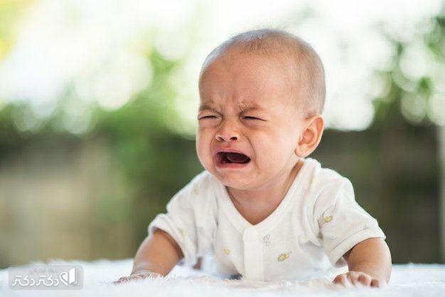 علل گریه نوزاد