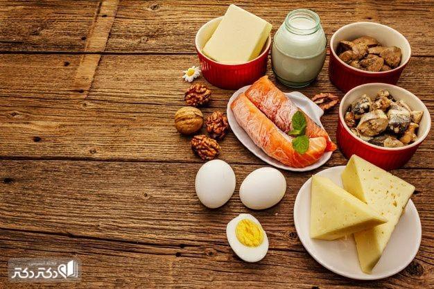 غذاهای با ویتامین دی