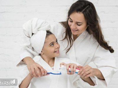 آموزش صحیح مسواک زدن به کودکان