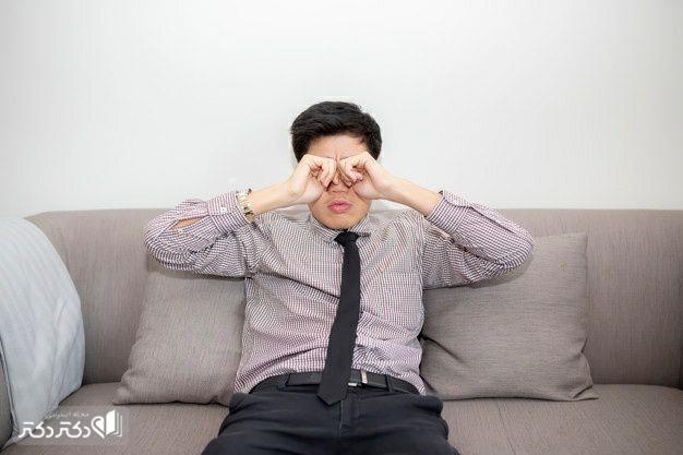 جلوگیری از خارش چشم