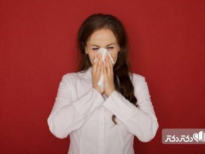 علت آبریزش بینی در صبح
