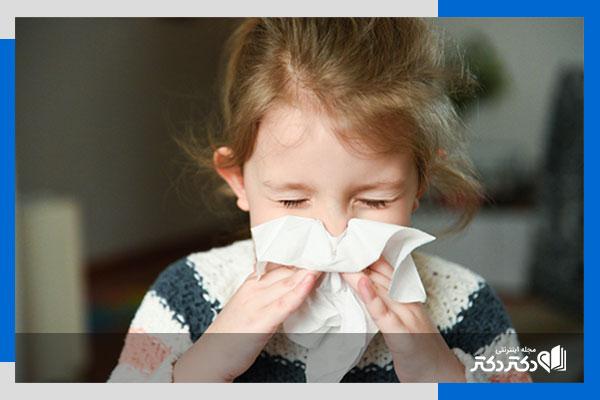 رژیم غذایی آسم کودکان