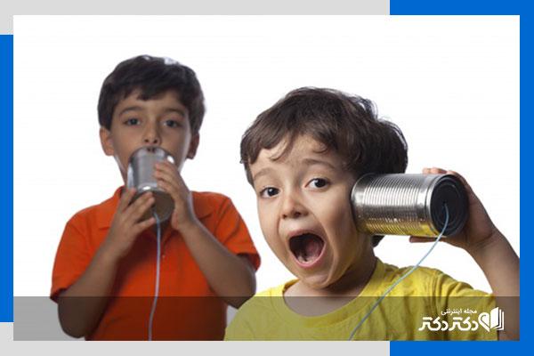 تست شنوایی سنجی کودکان